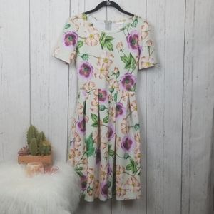 Lularoe flower Dress size Small